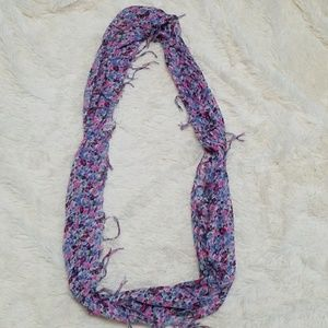 Express floral infinity scarf